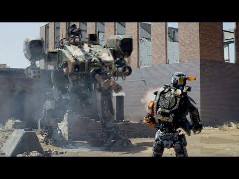 """Чапи против робота! - """"Робот по имени Чапи"""" отрывок из фильма"""