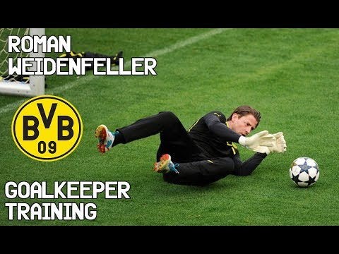 Roman Weidenfeller / Goalkeeper Training / Borussia Dortmund !