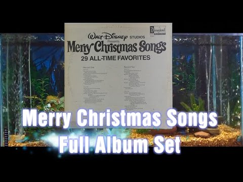 Merry Christmas Songs = Walt Disney = Full Album Set