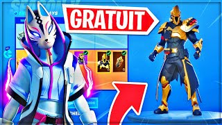 How to have THE SAISON COMBAT PASSE X FREE on Fortnite!