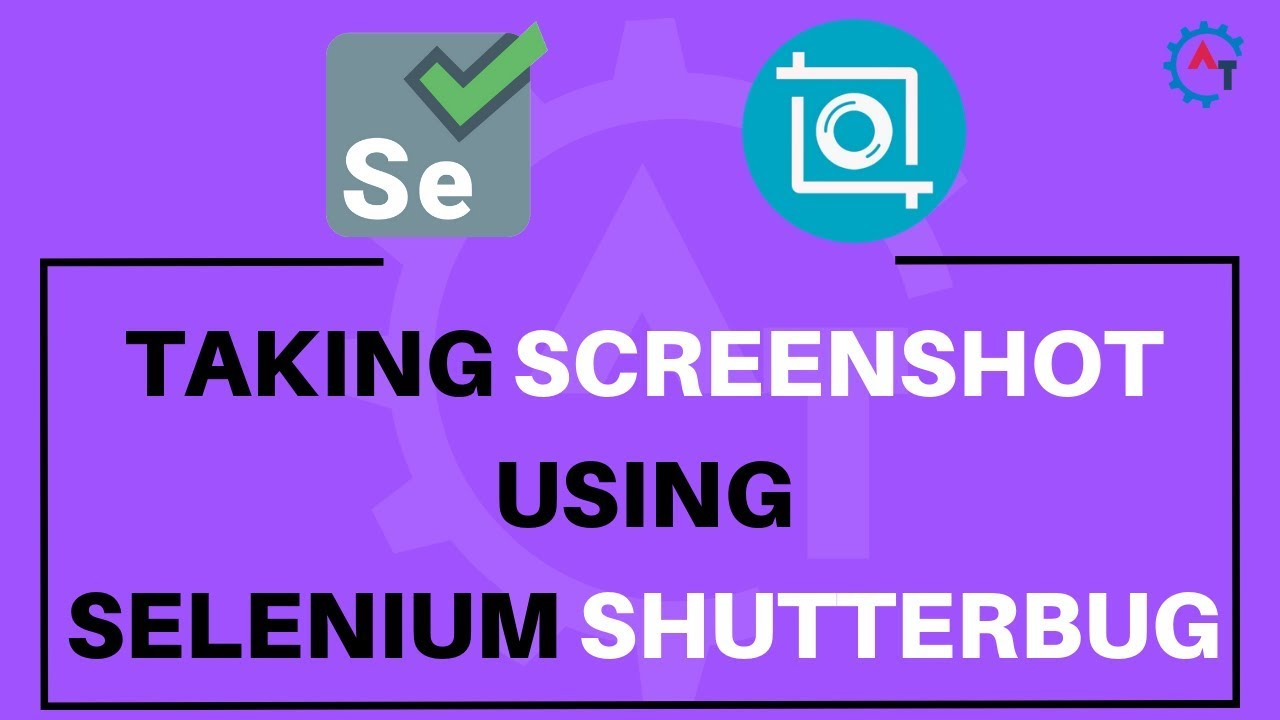 How to Take Screenshot using Selenium ShutterBug-Selenium