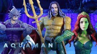 Aquaman Stop Motion Action | DC Kids