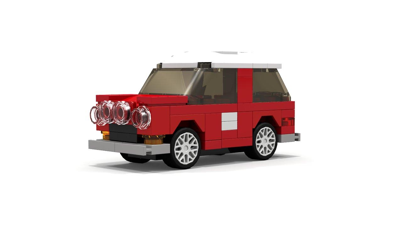 Lego Classic Mini Cooper Style Car Instructions Mini Moc Youtube