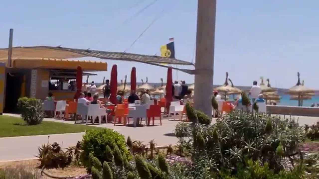Strandpromenade playa de palma mallorca majorca youtube - Muebles baratos palma de mallorca ...