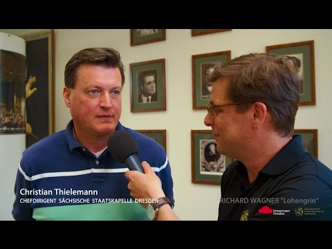 Semperoper Dresden 2016 - Christian Thielemann Interview • Richard Wagner Lohengrin