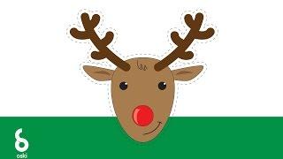 Illustrator tutorial - Rudolph Red Nosed Reindeer