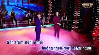 [Karaoke HD] Beat Chuẩn Ca Sĩ - Chuyến Tàu Hoàng Hôn - Lương Gia Huy ft Khưu Huy Vũ