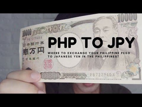 HOW TO EXCHANGE YOUR PHILIPPINE PESO TO JAPANESE YEN IN THE PHILIPPINES?