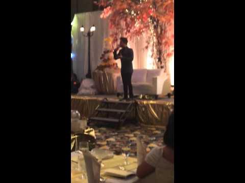 Top Wedding Host Manila -  Emcee and Singer David Mercado