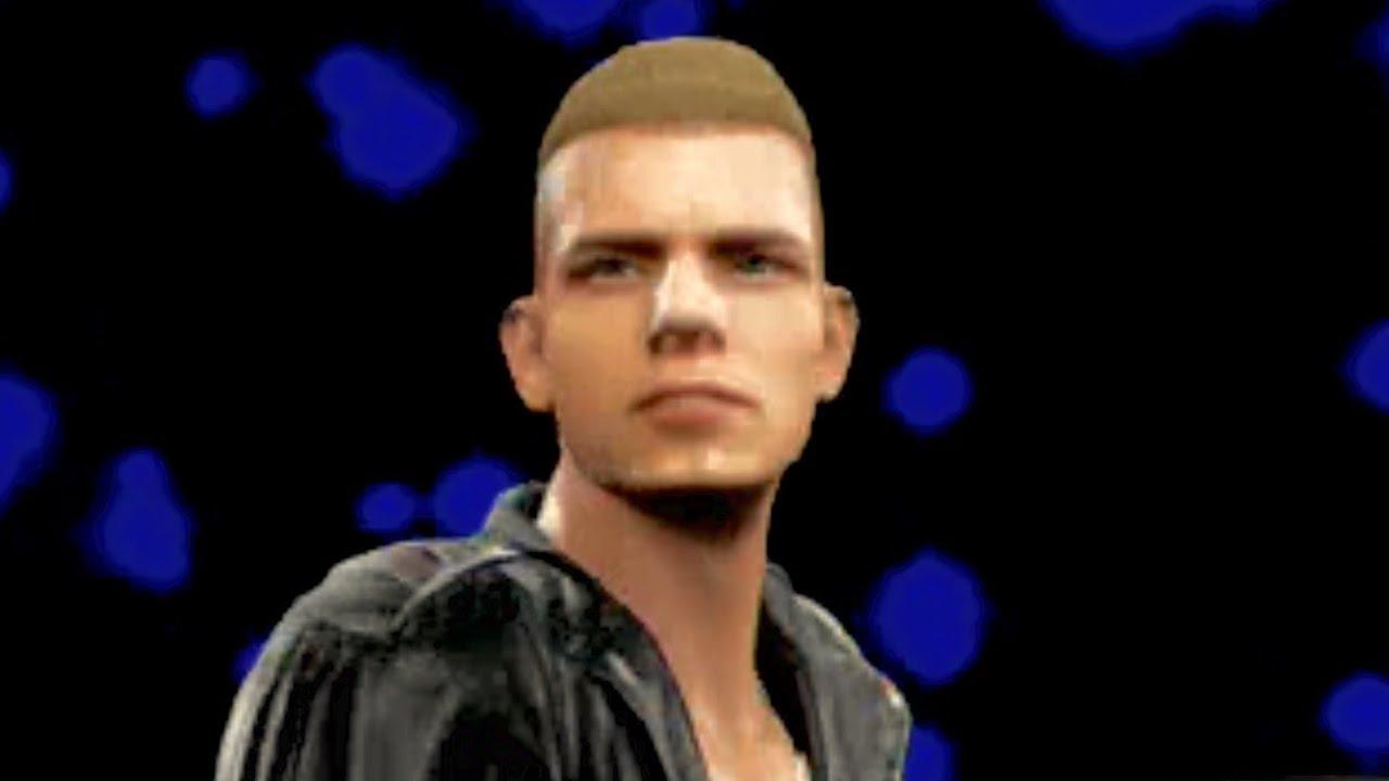 WWE 2K16 - Eminem vs. Machine Gun Kelly - YouTube