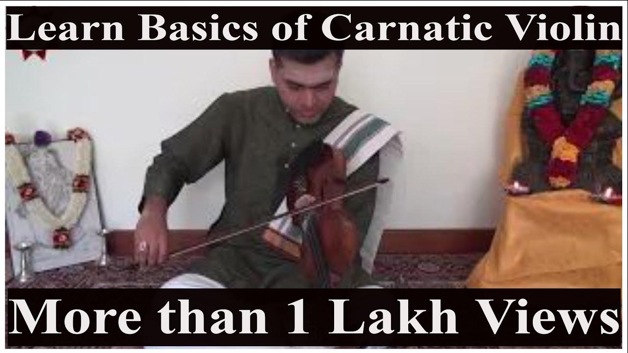 Violin Basic Lessons (Carnatic Music) - Part 1 | Sarala Varase 1 | Mayamalavagowla Raga
