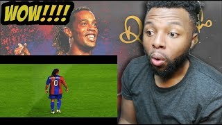 Ronaldinho Gaúcho ● Moments Impossible To Forget REACTION