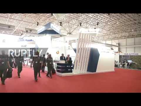 Malaysia: Russian Project 636 submarine and Ka-52 Alligator helicopter on show at military expo
