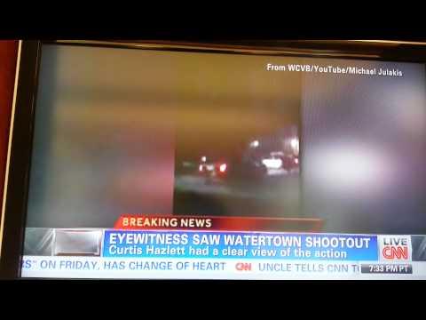 Curtis Hazlett CNN interview on Marathon Bombers