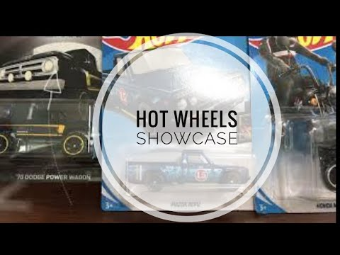 Hot Wheels Showcase and Review : Honda Treasure Hunt, Dodge Power Wagon and More!