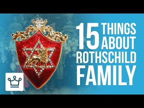15 Things You Didn't Know About The Rothschild Family
