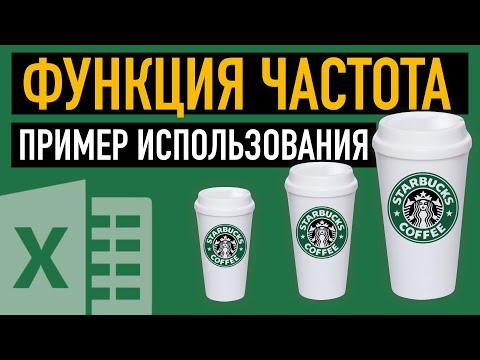 ФУНКЦИЯ ЧАСТОТА В EXCEL. ПРИМЕР ИСПОЛЬЗОВАНИЯ