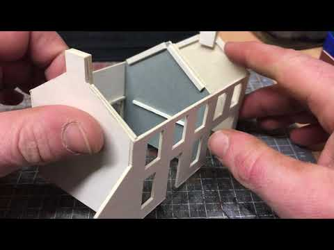 Building A OO Gauge Model Railway: Scratch Build Series – 1.2 Curved Wall And Supports