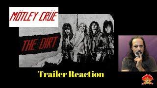 Motley Crue The Dirt Trailer Reaction