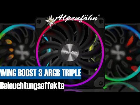 Alpenföhn® 120mm Wing Boost 3 RGB - Alpenföhn