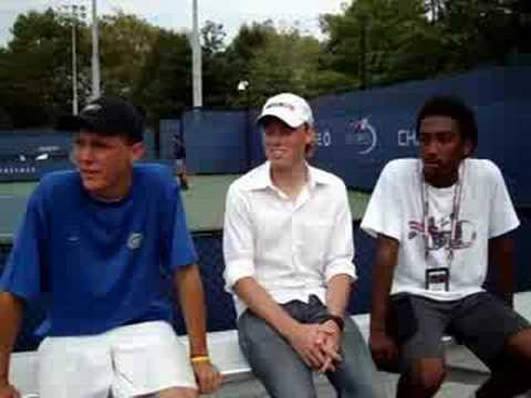 Wilson Tennis On The Rise At The US Open With Wilson Juniors Bob VanOverbeek And Evan King