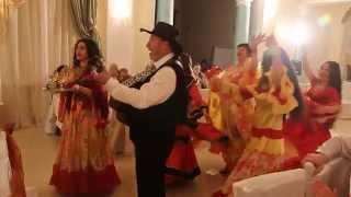 """Цыганский  театр """" ТЭРНЭ  РОМА """" Поздравление  на гусарской свадьбе !!!"""