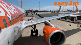 EasyJet A319 Paris CDG to Toulouse TLS (for 50th Anniversary of Airbus) [FULL FLIGHT REPORT]