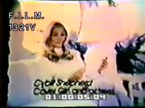 Cybill Shepherd Cover Girl Commercial (stock footage / archival footage)