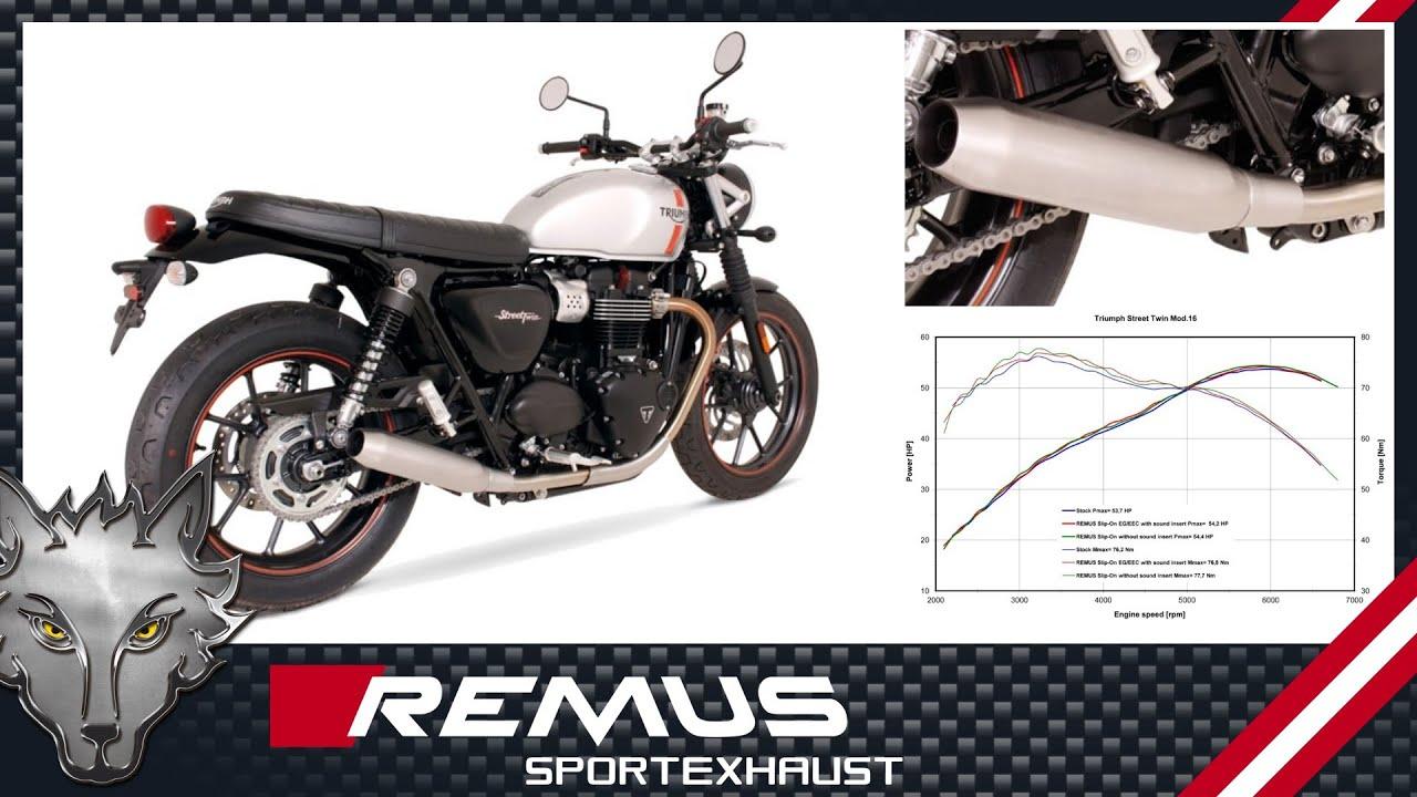 Remus Auspuff Triumph Thunderbird Erfahrungen Motorrad Bild Idee