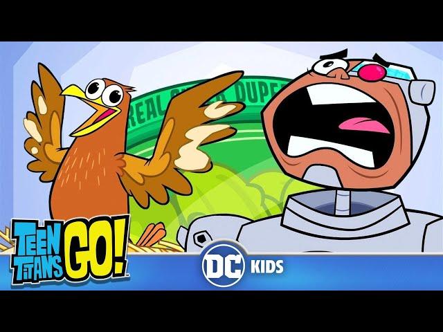 Teen Titans Go! En Latino | ¡No pueden resistirse a la noche! | DC Kids