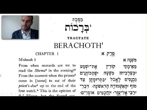 Brachot 1:1✡ Mishnah Snapshots 5