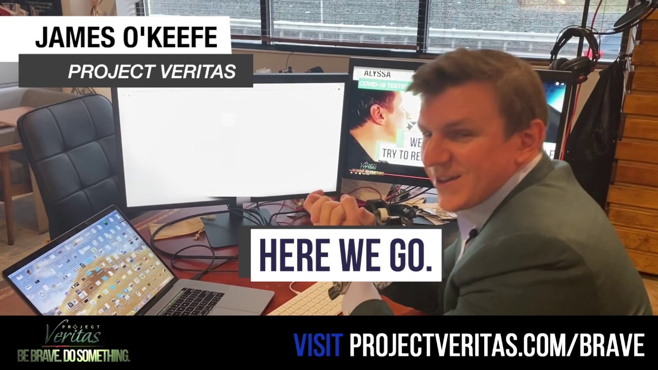James O'Keefe Receives COVID-19 Test Results