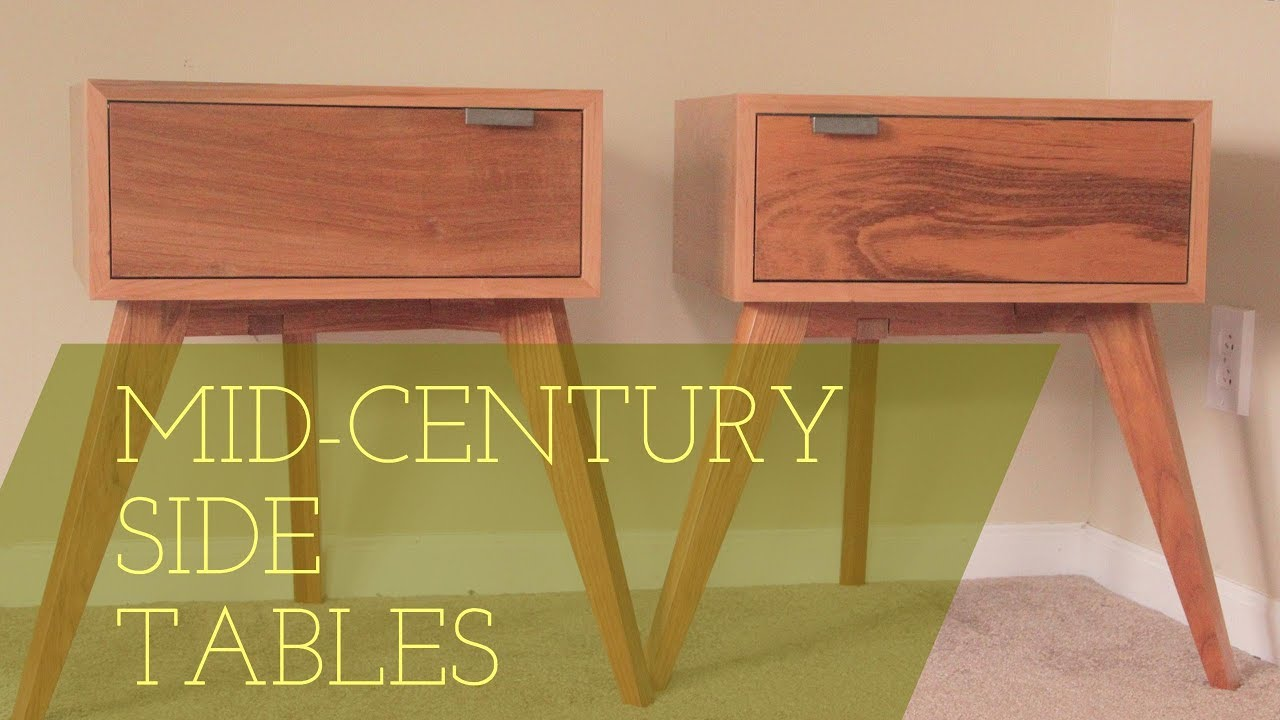 Modern Side Tables // Mid-Century Design