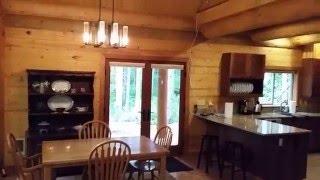 Log and panel home with 1650 sf.