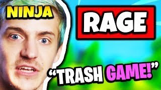 NINJA RAGES HARD AT BUILDING GLITCH | Fortnite Daily Funny Moments Ep.152