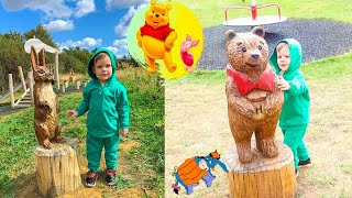 Winnie the Pooh Fun with Leo  at Playground Fun for Kids