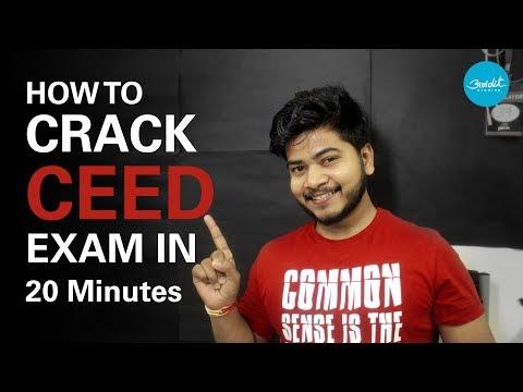 Avidit Studios : How to crack CEED exam in 20 minutes