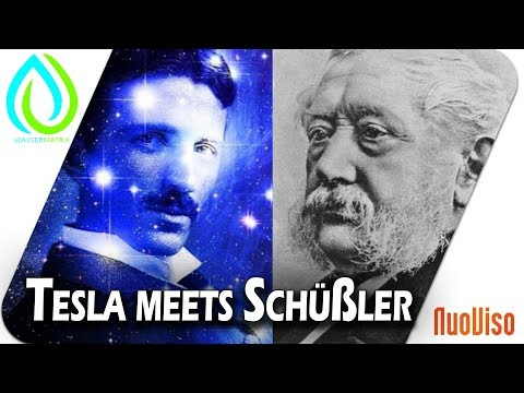 Dr. Tesla meets Dr. Schüßler - Wassermatrix präsentiert die Welt der Hochfrequenz und der Mineralien