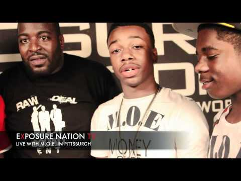 Pittsburgh's music group MOE interview pt2 on EXPOSURE NATION TV