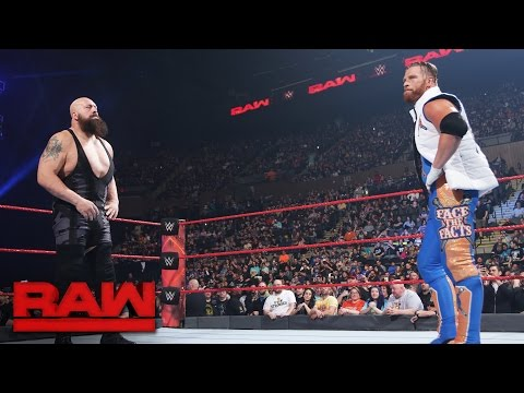 Big Show welcomes Curt Hawkins to Team Red: Raw, April 10, 2017