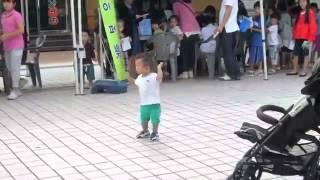 Korean Baby Dancing   Gangnam Style
