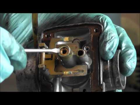 Nettoyage et ajustement carburateur-partie 1