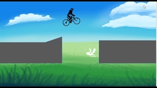 how to create animated bike jumping _graphic design. in powerpoint  in hindi