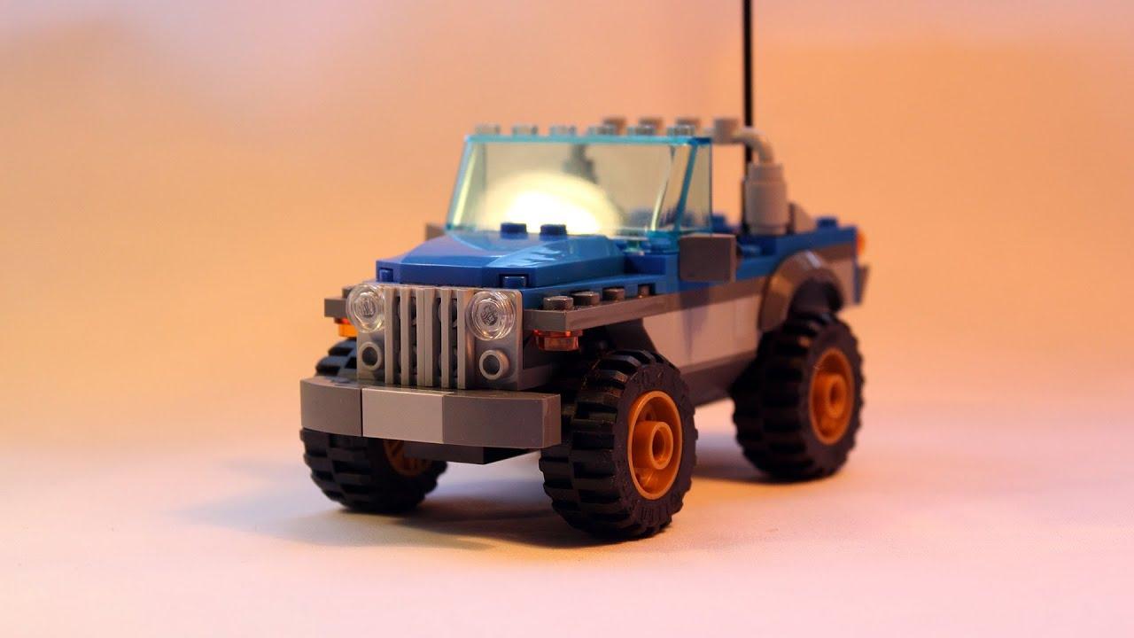 how to build a simple lego car