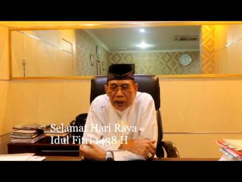 Walikota Singkawang Awang Ishak Mengucapkan Selamat Hari Raya Idul Fitri 1438 H