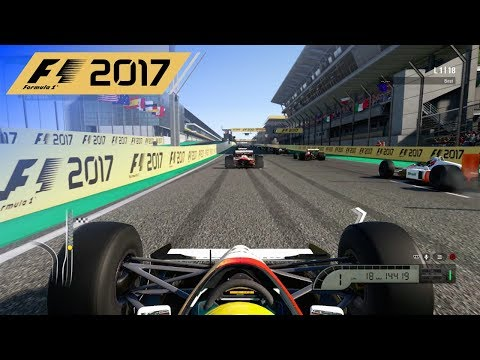 F1 2017 - 25% Classic Race in Senna's 1991 McLaren at Interl
