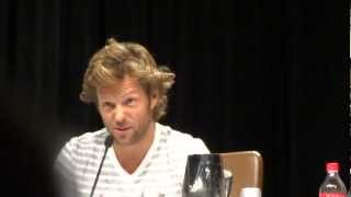 Dragon*Con 2012 Day 1 - Jamie Bamber & Katee Sackhoff Discuss Lee & Kara