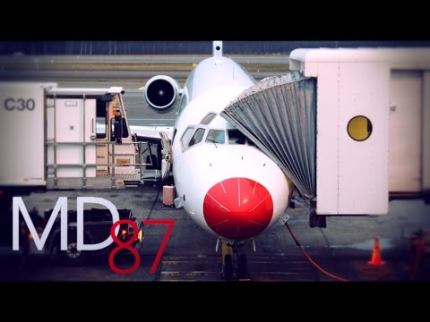 MD-87 TRIP REPORT | DAT Danish Air Transport | SK703 Helsinki - Stockholm | OY-JRU