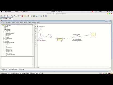 6 create collaboration diagram using rational rose - How To Draw Component Diagram In Rational Rose