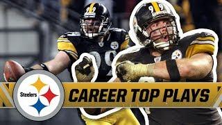 Brett Keisel made QBs #FearDaBeard   Pittsburgh Steelers Highlights